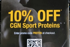 iHerb优惠码(HNV285)即日至年底CGN Sport Proteins蛋白粉9折